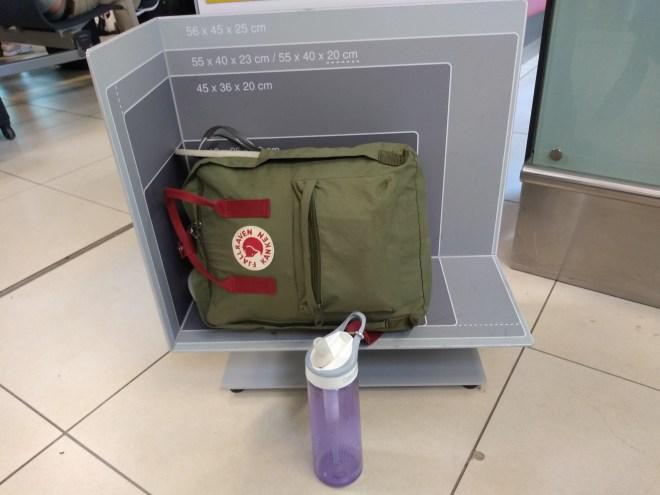 viajar bagagem mão somente item pessoal