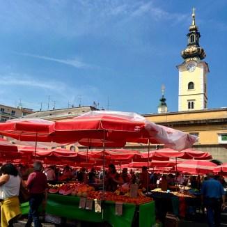 Dolac Market Zagreb
