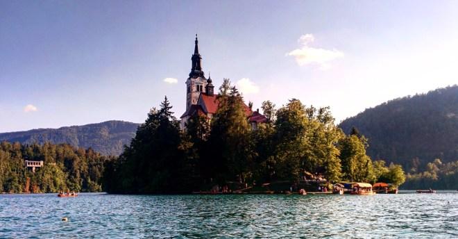 Lago de Bled panorama