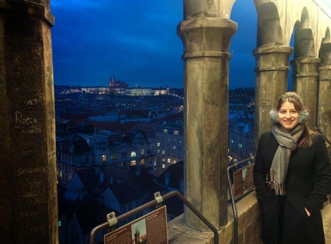 Praga torre da cidade velha