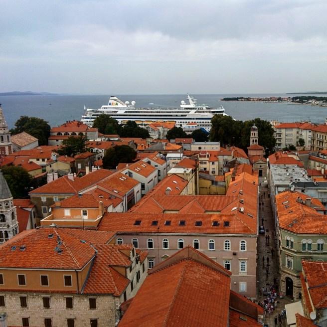 Vista de Zadar Croácia