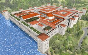 crédito cgtrader palácio Diocleciano