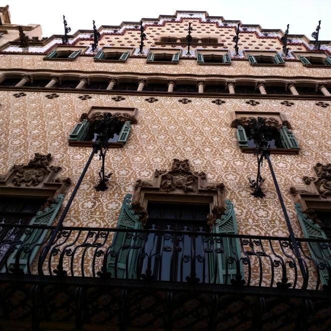 Fachada Casa Amatler Barcelona