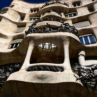 Fachada Casa Mila Barcelona