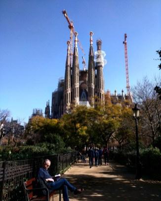 Fachada Sagrada Familia Barcelona 2