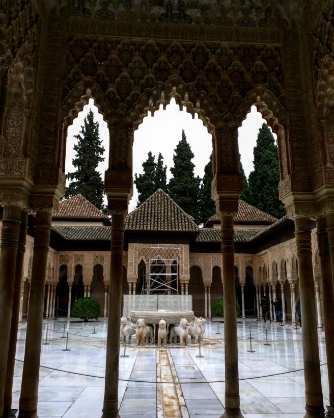 Pátio dos leões 3 Alhambra Granada