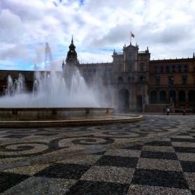 Plaza de Espana Sevilha fonte