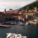 Vista muros Dubrovnik