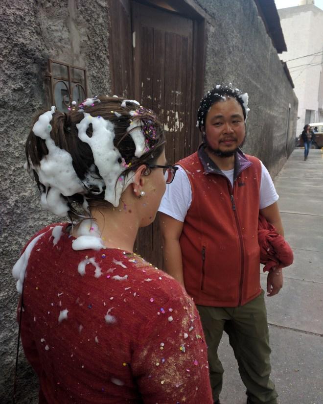 Carnaval Arequipa atingida