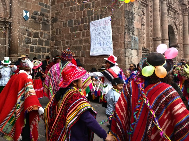 Carnaval Cusco Plaza de Armas 3