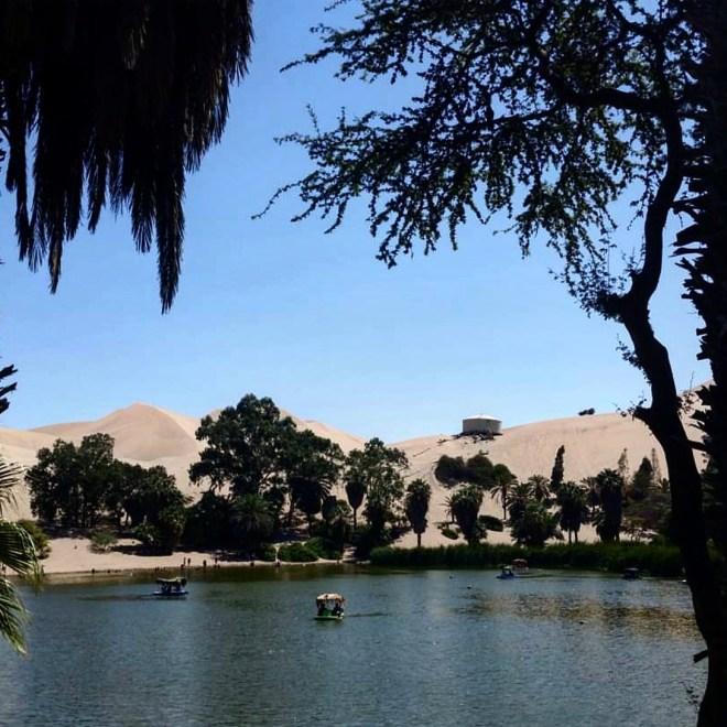 Huacachina oásis Peru 5