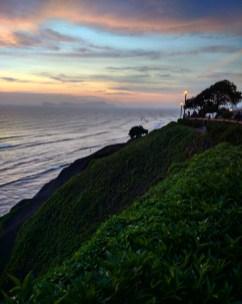 Lima Miraflores por do sol 2