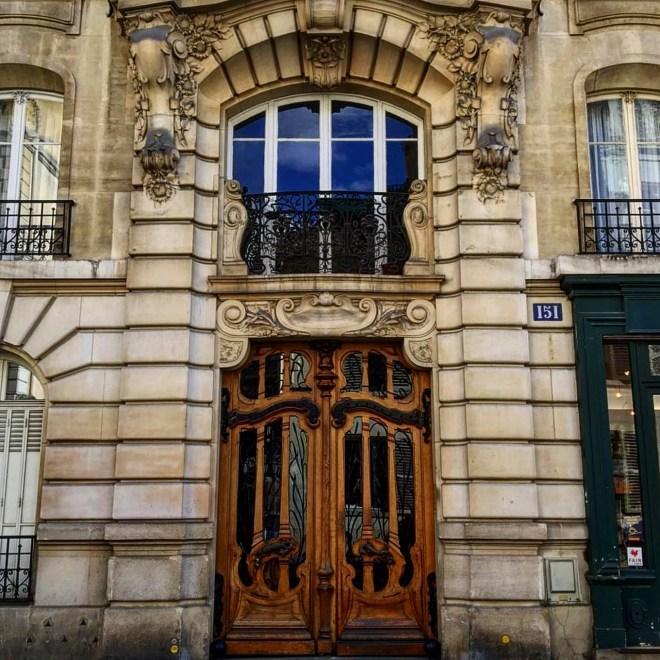 Rue de Grenelle Art Nouveau Paris