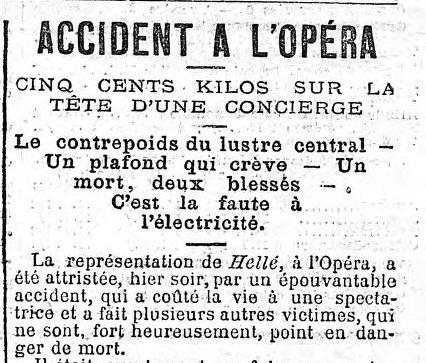 journal accident opera