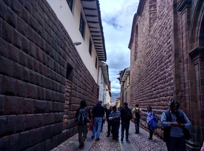 Muros incas em Cusco 3