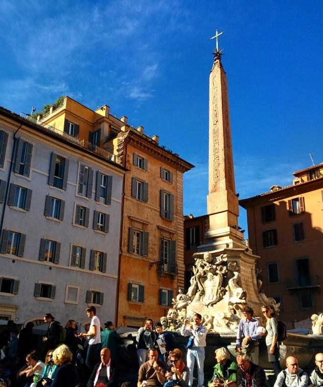 Pantheon obelisco