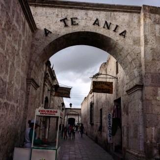 Arequipa Plaza de san Francisco 2