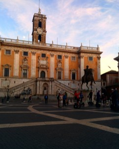 Campidoglio praças de Roma 1