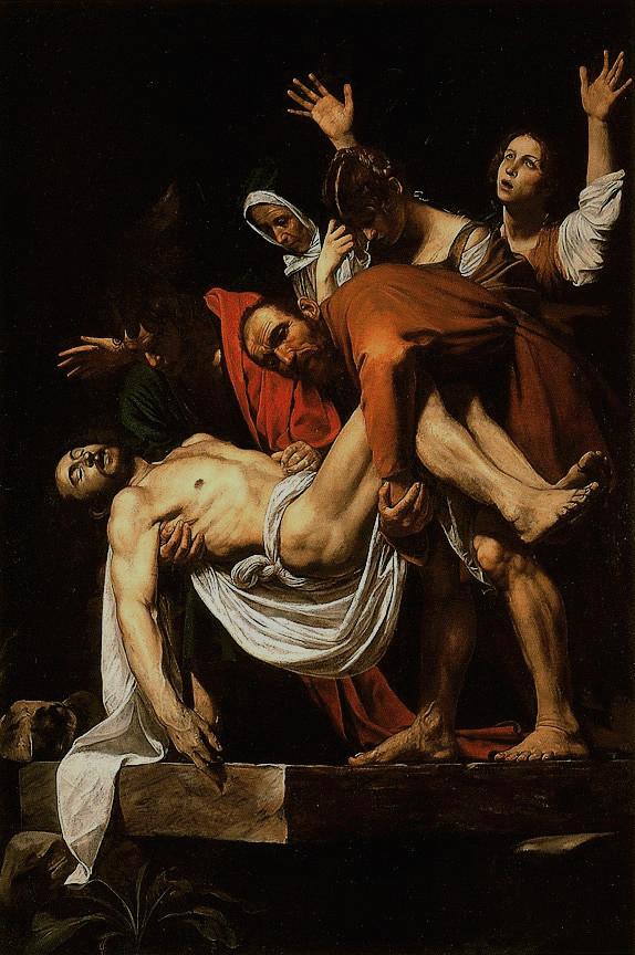 Caravaggio_-_La_Deposizione_di_Cristo