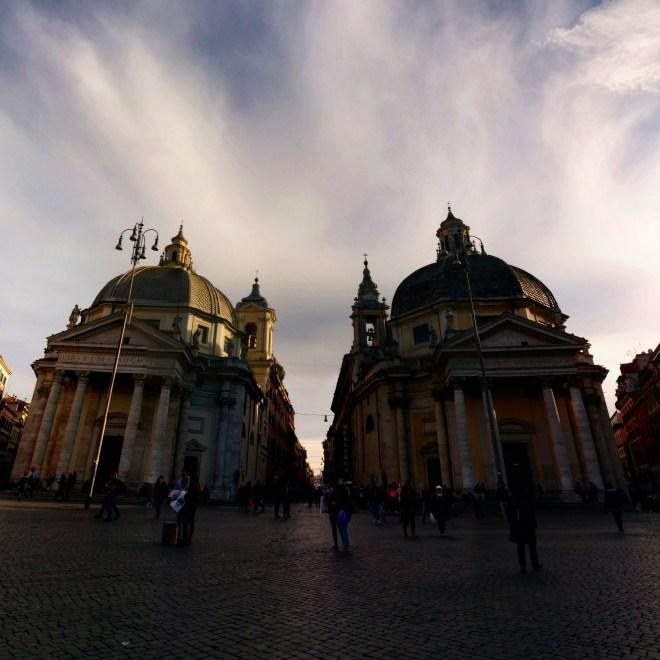 Piazza del Popolo praças de Roma 1