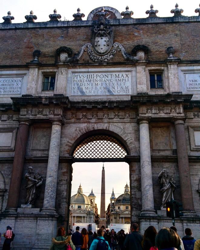 Piazza del Popolo praças de Roma 2