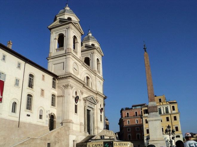 Piazza di Spagna praças de Roma 2