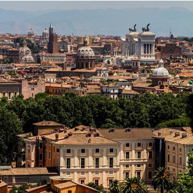 Gianicolo Vista de Roma 1