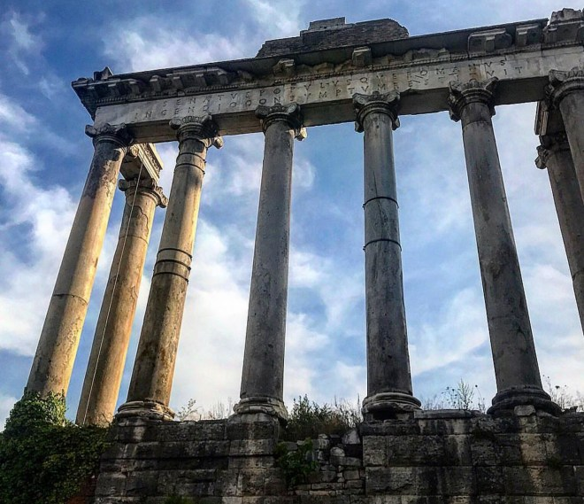 Templo de Saturno Forum Romano