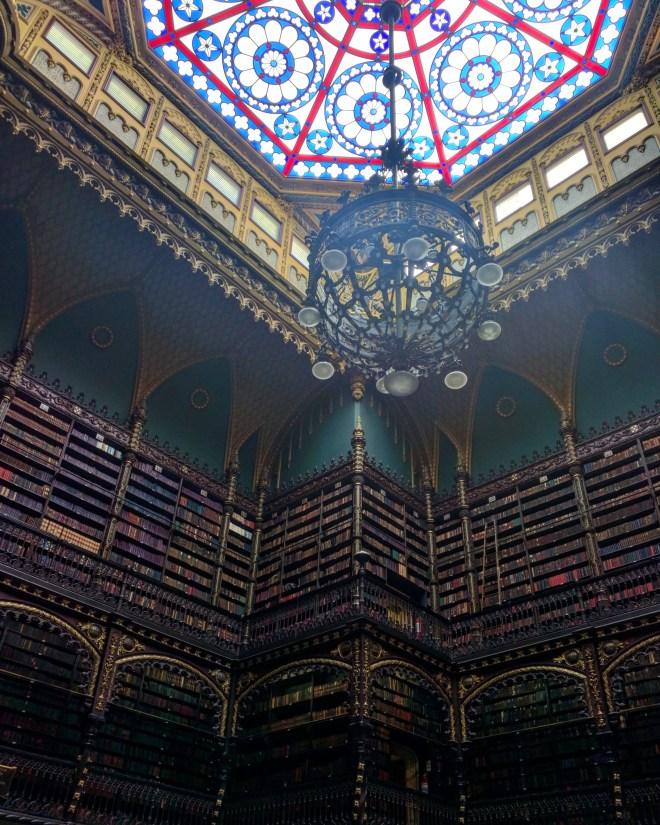 Real Gabinete Portugues de Leitura - bibliotecas mais bonitas do mundo 2