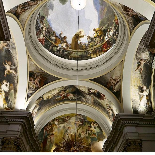 Ermita de San Antonio de la Florida Goya Madrid