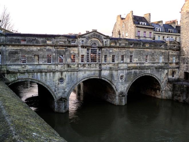 Ponte Pulteney coberta Bath
