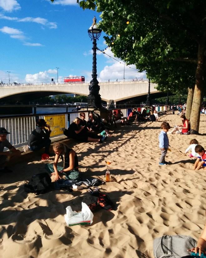 Southbank praia londres