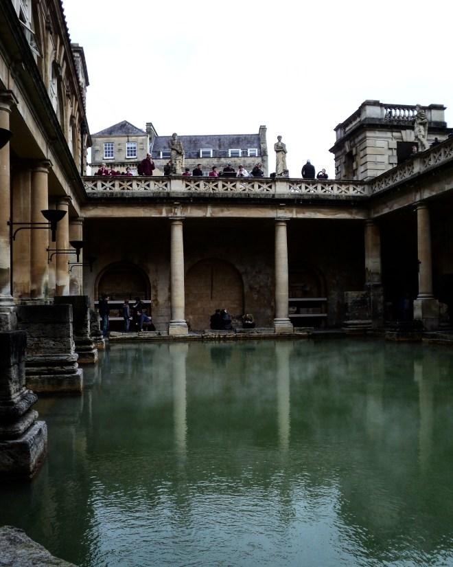 Termas romanas Bath Inglaterra