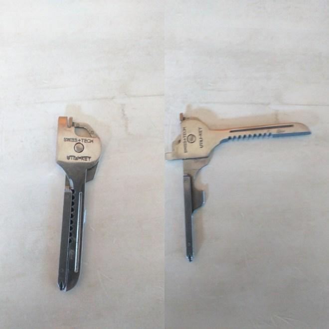 swiss key canivete em formato de chave