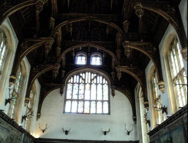 Teto das cozinhas Hampton Court Palace