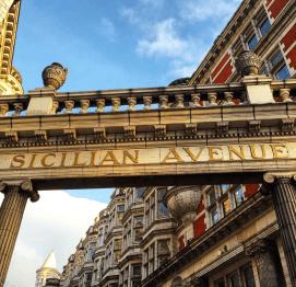 Sicilian avenue Bloomsbury Londres