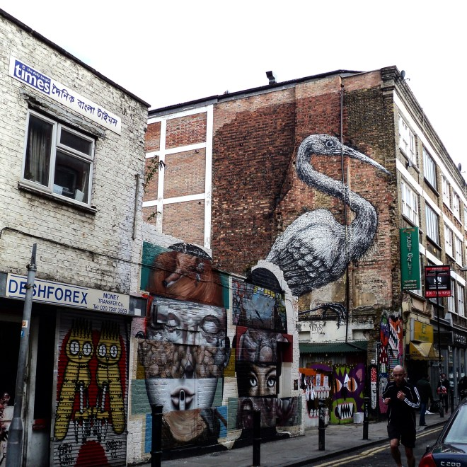 Shoreditch arte de rua londres