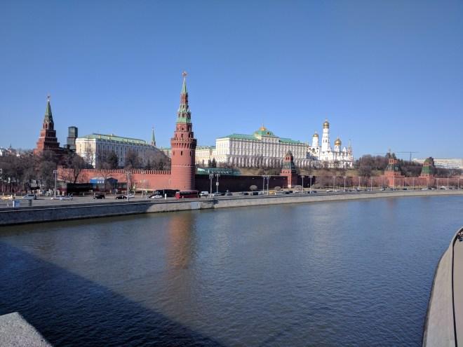 Bolshoi Kameni Most grande ponte pedra moscou vista kremlin