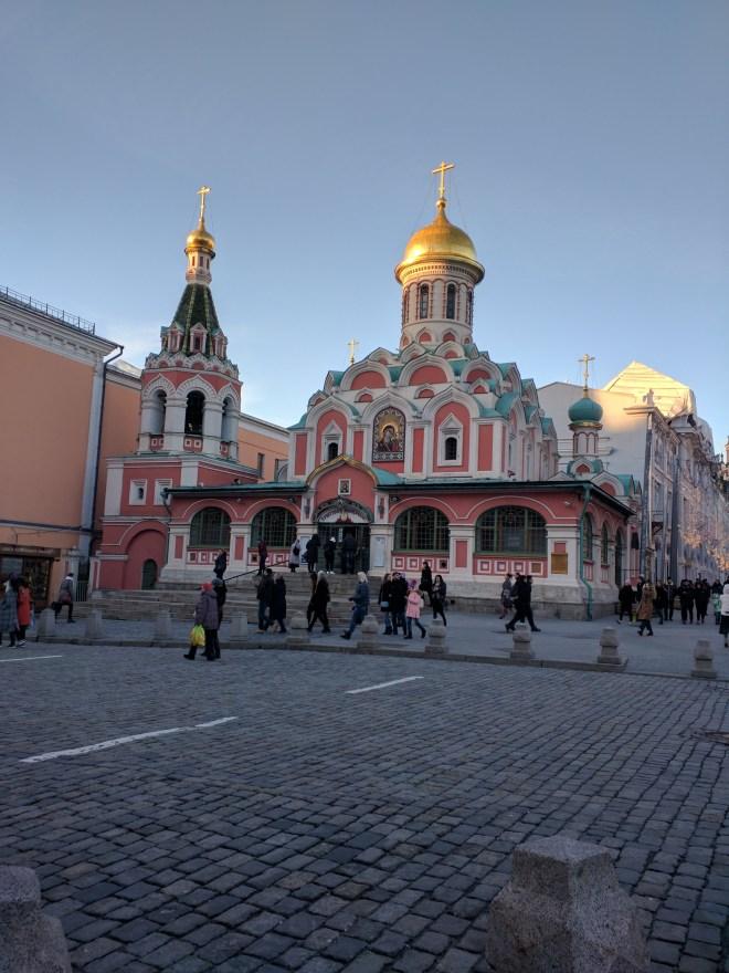 Catedral de Kazan praça vermelha moscou