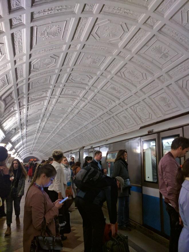 Estação metro moscou belarusskaia