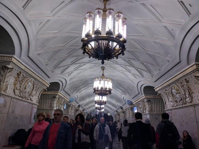 Estação metro moscou Prospekt Mira