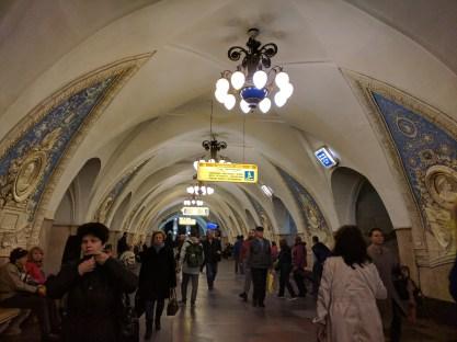 Estação metro moscou taganskaia 1
