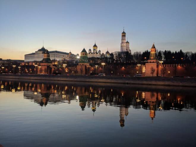Kremlin noite ponte Boris Nemtsov Moscou