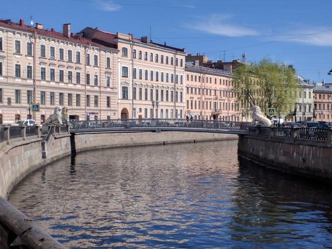 Petersburgo de Dostoievski crime e castigo canal griboiedov