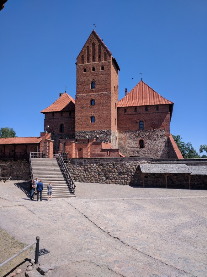 Trakai castelo na ilha lituania interior 5