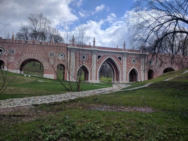 Tsaritsino parque Catarina Moscou 1