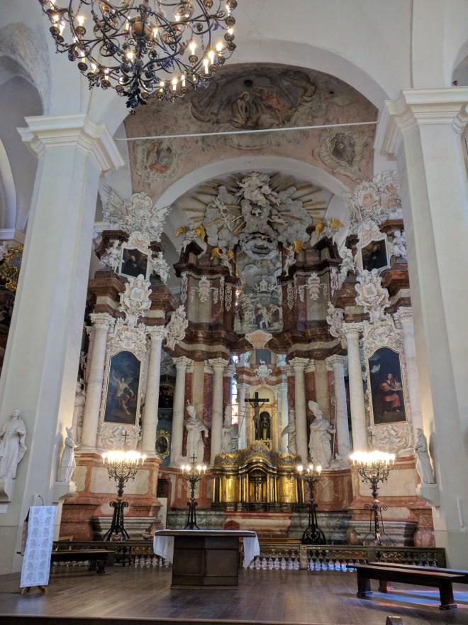 Universidade de Vilnius Lituania igreja de são joão