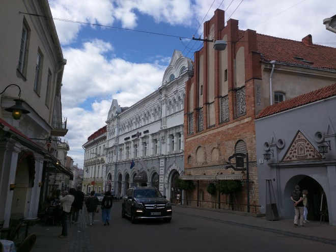 Vilnius Lituania aurus vartu