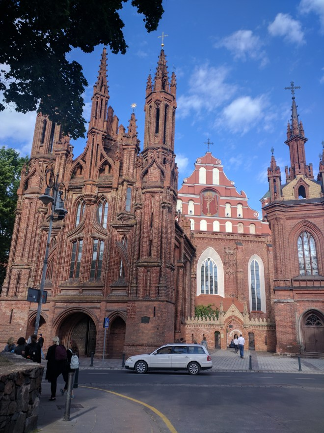 Vilnius Lituania igreja de santa ana sao francisco