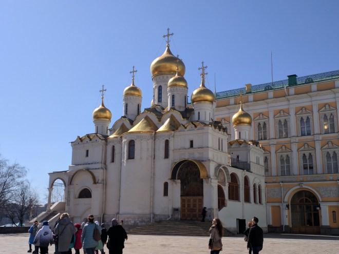 Kremlin Moscou Catedral Anunciação